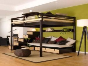 queen size loft bed Singapore
