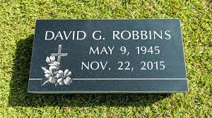 Flat Grave Marker