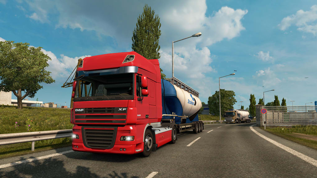 euro truck simulator game