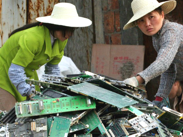 e-waste recycling company