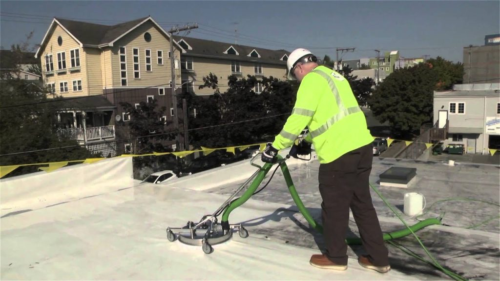 Private rooftop cleaning